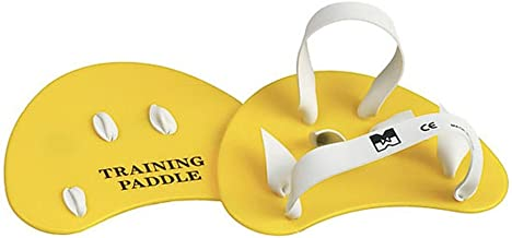 Yellow Malmsten Unisexs Finger Paddles Junior//Adult