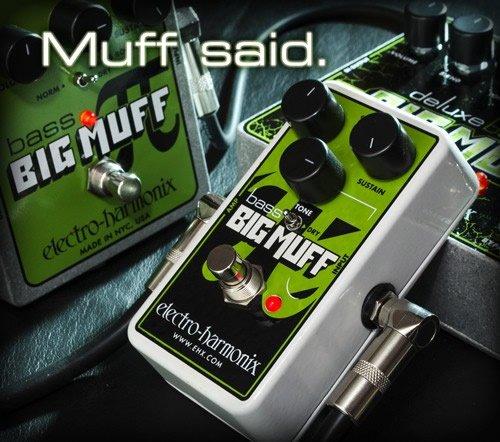 Electro Harmonix 665220efecto de guitarra eléctrica con sintetizador Filtro Nano Bass Big Muff Pi