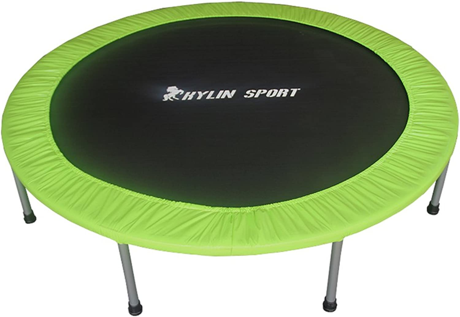 Home Indoor Adult Sports Personal Trampoline Folding Fitness Spring Jumping Bed Fitness Equipment (color   Green)