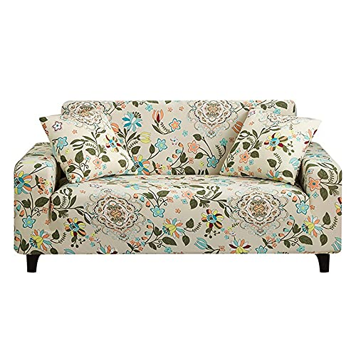 Funda de sofá elástica para Sala de Estar, Toalla de sofá, Funda de sofá Antideslizante para sofá Strench, Juego de Fundas 1/2/3/4 plazas A11 4 plazas