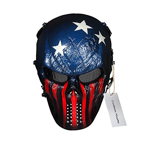 OutdoorMaster Full Face Airsoft Mask