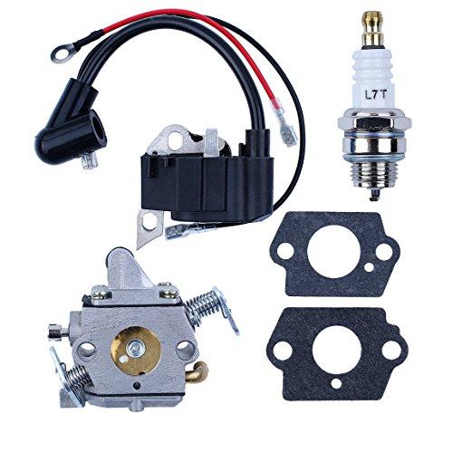Haishine Candela accensione Bobina Carburatore Kit carburatore per STIHL 017 018 MS170 MS180 MS 170 180 Pezzi di Ricambio Motosega