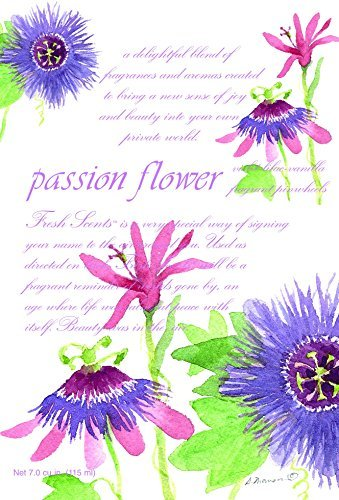Fresh Scents Scented Sachets - Passion Flower, Lot of 6 by Fresh Scents