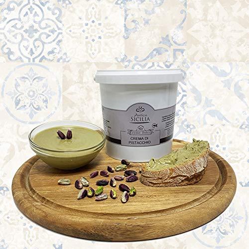 Crema di Pistacchio 1kg ideale per Farcire Dolci, con 40% di Pistacchio