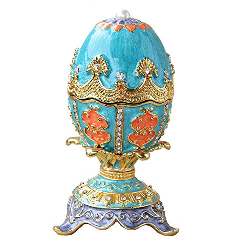 DDXW Caja de joyería de la galjanoplastia de la rana de la caja de la joyería de la decoración del hogar regalo