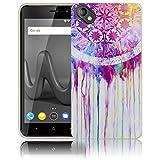 thematys Passend für Wiko Sunny 2 Plus Traumfänger Handy-Hülle - Silikon - staubdicht, stoßfest und leicht - Smartphone-Case Wiko Sunny 2 Plus