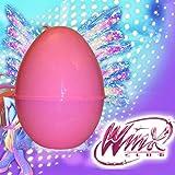 LIBROLANDIA Uovo di Pasqua in Plastica Tematico Bambine (Winx)