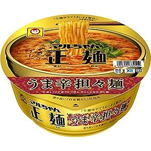 """マルちゃん正麺 カップ うま辛担々麺 126g ×12個"""""""