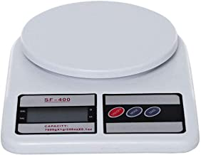 Electronic Kitchen Digital Weighing Scale 10 Kg, White