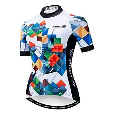 JPOJPO Women Cycling Jersey Bicycle Team Bike...