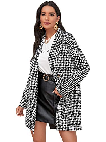 Convertible Wrap (Black White Houndstooth)