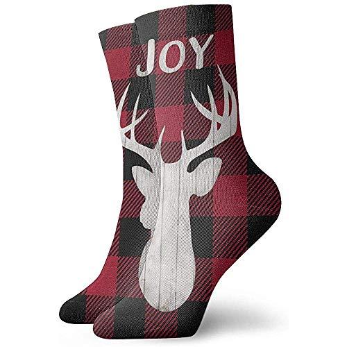 Gre Rry Femmes Joy Buffalo Check Plaid Athletic Socks Moisture Control Thermal Socks