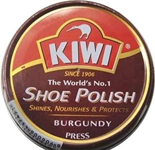 Kiwi shoe leather polish - Burgundy