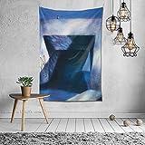 shenguang H-alsey PosterColorful Durable Tapiz Colgante de pared Moda Decoración del hogar Artprint Resuable Manta de pared para dormitorio Sala de estar Dormitorio 60 'X40'