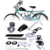 Liju Full Set 80cc 2 Stroke Bicycle Engine Kit Help You Convert Bicycle to a Gas Motorcycle Get a Better Cycling 2021 New Version Motor Bike Kit, for 24', 26' and 28' Bikes (Silver)