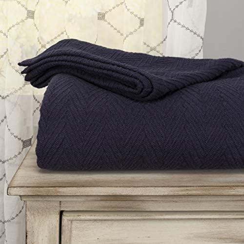 Top 10 Best eddie bauer herringbone cotton blanket Reviews