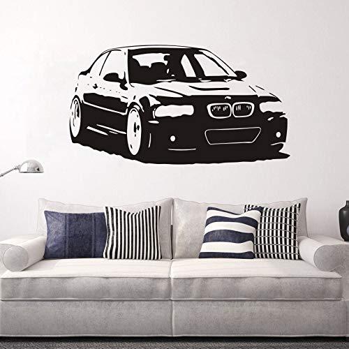 Serie coche vinilo pared pegatina mural decoración del hogar sala de estar decoración salón calcomanía dormitorio arte pared pegatina otro color 57x105cm