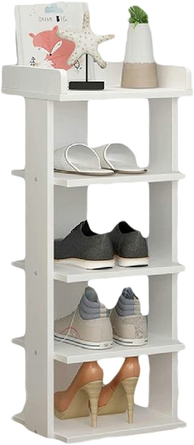 Ruhua Shelving Unit Cabinet Folding Storage 5-Shelf Embellished Fit-and-Flare Book Shelf AS4 5 Shelves