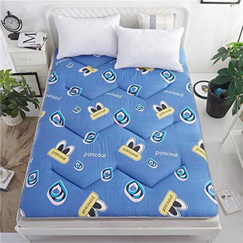 FF Futon Möbel Baumwolle/Schaum/Polyester Traditionelle japanische Futon-Rollmatratzen, Yoga-Meditationsmatten, Betten, B, 100 * 200 cm