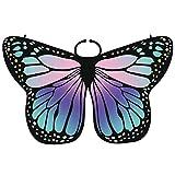 Damen Elegante Schmetterlingsflügel Erwachsene Bunte Schmetterling Flügel Frauen Karneval Umhang...