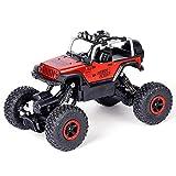 BSQS1 2.4Ghz RC todoterrenos 01:18 eléctrica Rock Crawler camión 4WD Control Remoto Buggy Coche con Fuerte Capacidad de Ascenso Todo Terreno Juguetes Impermeables del vehículo de Carreras for niños y