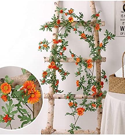 Fashionable XQCML Artificial Rattan Daisy Flower Arc Vine Wedding Reservation