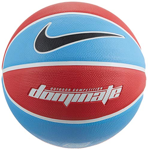 Nike Unisex– Erwachsene Dominate 8P Basketball, University Blue/White/White/Black, 7