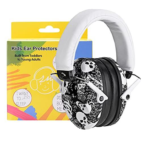 PROHEAR 032 Kids Ear Protection Safety Earmuffs - Skull Pattern