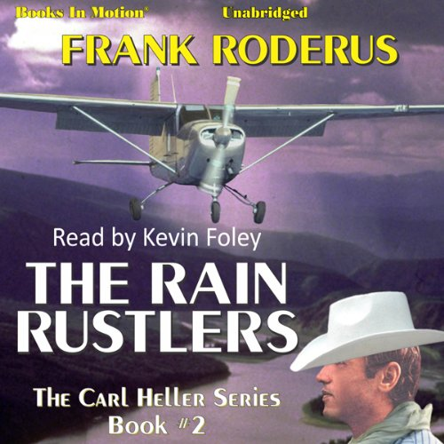 The Rain Rustlers audiobook cover art