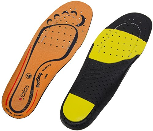 Jalas Einlegesohle 8711L - Low Arch Support - ESD 48/50 Schwarz/Orange