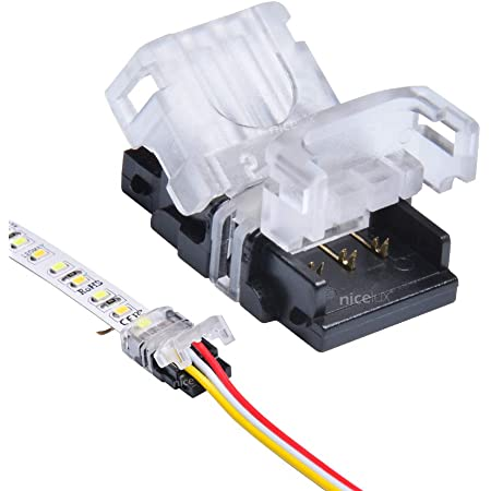 5x 3pin LED Strip Connector for WS2812B LED Strip to Wire Connection Terminal