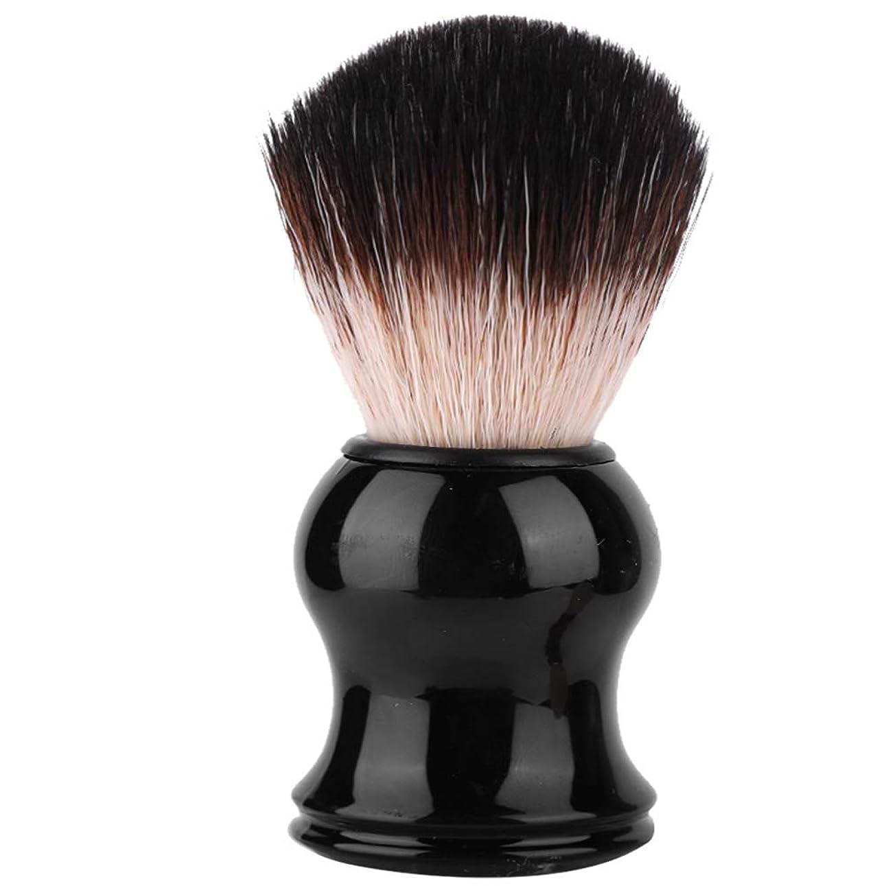 トーナメント値保育園ポータブルメンズソフトヘアシェービングブラシ絶妙なハンドル髭ブラシ理髪ツール個人用および業務用シェービングに最適(3#)