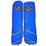 Professional's Choice Equine Sports Medicine Ventech Elite Rear Leg Boot, Pair (Medium, Royal Blue)