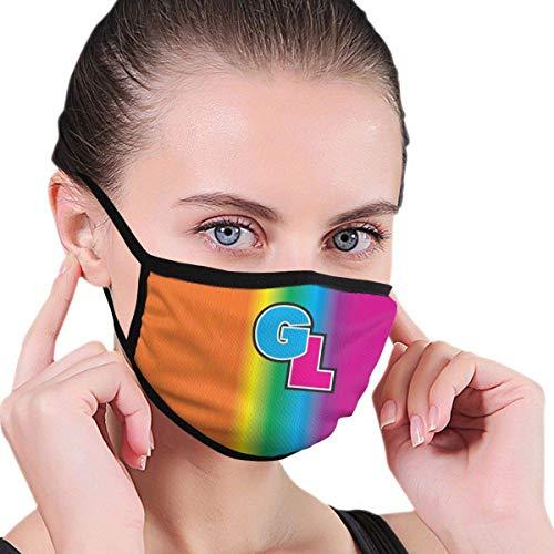 Rainbow LGBT Vlag Bi Unisex Outdoor Sport Mond Gezicht Masker Wasbaar Herbruikbaar Masker voor Volwassen Kinderen