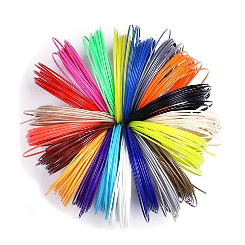 3D Printing Refill Pen 1.75mm ABS PLA Material,50/100/200 Meter Handle Plastic Filament for School Drawing Supplies-100M_20_Color_ABS