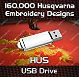 160k Embroidery Designs HUS Designs Embroidery On a USB