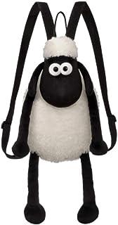 Mochila, 61175, blanco y negro, 30,48 cm, apto para adultos y niños, felpa