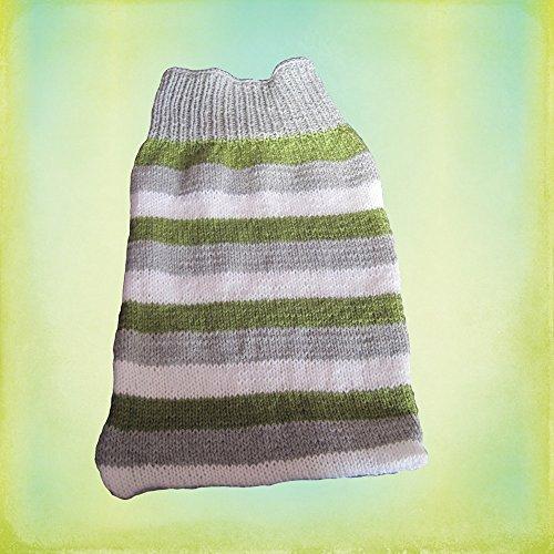 Strickanleitung Schlafsack Pucksack für Babys von 0-8 Monaten: Perfekt für Anfänger