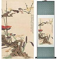 鳥と花の絵ホームオフィスの装飾の絵家の絵中国の水墨画