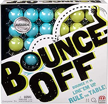 Bounce Off Game with Bouncing Pattern Challenges for Family Teens Adults and Kids with 16 Balls 9 Challenge Cards and Game Grid Makes a Great Gift for 7 Year Olds and Up