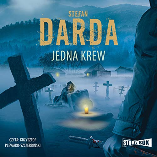 Diseño de la portada del título Jedna krew