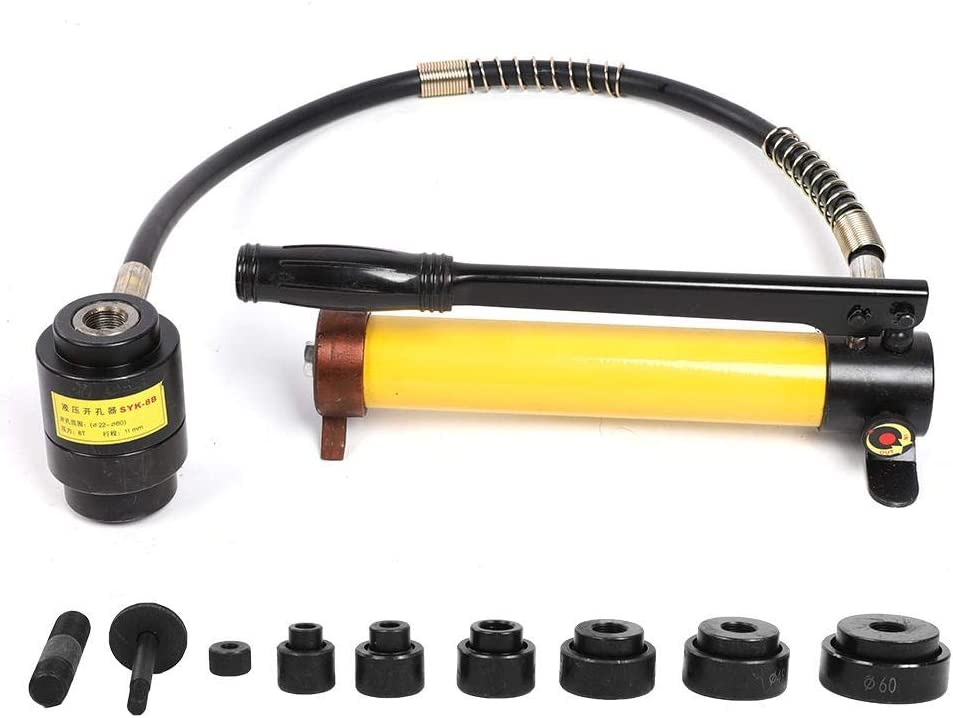 Knockout Tool kit 8T Japan Maker New Hydraulic Kit H Punch Driver Max 90% OFF Hole
