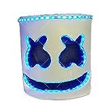 unbrand Halloween DJ Máscara LED Full...