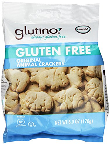 Glutino Gluten Free Original Animal Crackers, 6 oz