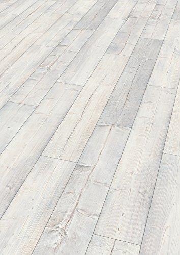 EGGER EHC008 Korkboden, Laminat, Kork Designboden, Villefort Pinie weiss