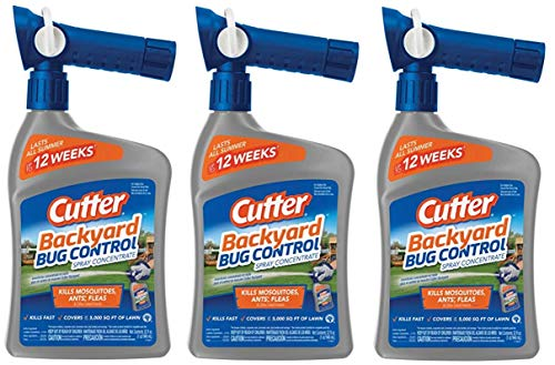 Cutter A Backyard Bug Control Spray Concentrate (32 Ounce, Pack of 3)
