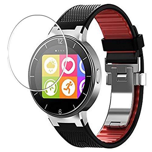 Vaxson 3 Unidades Protector de Pantalla de Cristal Templado, compatible con Alcatel One Touch Hybrid Watch, 9H Película Protectora Film Guard Nueva Versión