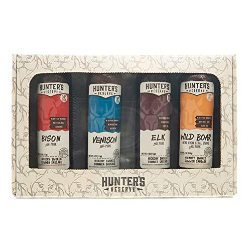 Hunters Delight Open Season Gift Box - Taste Of The Wild Summer Sausage