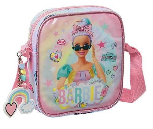 Safta Bandolera Pequeña de Barbie Girl Power, 160x40x180mm, multicolor, m