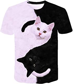 Unisex Summer Sleeve T Shirts Printed